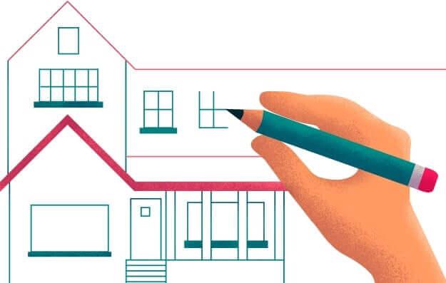 Desenhando uma casa